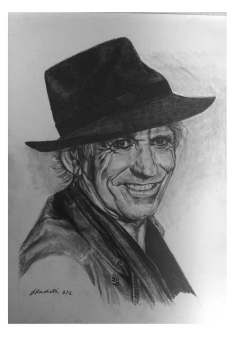 Keith Richards by mustangsal